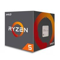 CPU AMD RYZEN 5 2600 S-AM4 65W 3.4GHZ TURBO 3.9GHZ 6 NUCLEOS/ VENTILADOR AMD WRAITH STEALT SIN LED/ SIN GRAFICOS INTEGRADOS PC/GAMER