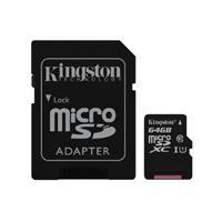 MEMORIA KINGSTON MICRO SDXC CANVAS SELECT 64GB UHS-I CLASE 10 C/ADAPTADOR
