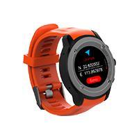 GHIA SMART WATCH DRACO /1.3 TOUCH/ HEART RATE/ BT/ GPS/ GAC-071 / COLOR ANARANJADO