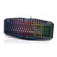 TECLADO GENIUS INTELIGENTE SCORPION K9 GAMER