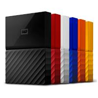 DD EXTERNO PORTATIL 2TB WD MY PASSPORT AZUL 2.5/USB3.0/COPIA LOCAL/ENCRIPTACION/WIN