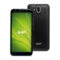 GHIA SMARTPHONE I1 3G / 5.5 PULG IPS / ANDROID GO 8.1 / CAMARA FRONTAL / DOBLE CAMARA TRASERA / 1GB 8GB / WIFI / BT / NEGRO