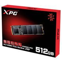 UNIDAD DE ESTADO SOLIDO SSD ADATA XPG SX6000 512GB M.2 2280 PCIE GEN 3X4 LECT.2100/ESCR.1500MBS PC/GAMER/ALTO RENDIMIENTO
