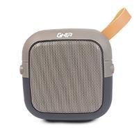 BOCINA BLUETOOTH BX90 GHIA GRIS/NEGRO 3W/AUX/SD CARD/MANOS LIBRES/BT/TWS/RADIO FM