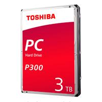 DD INTERNO TOSHIBA P300 3.5 3TB/ SATA3/6GBIT/S /64MB CACHE/7200RPM/P/PC