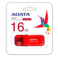 MEMORIA ADATA 16GB USB 2.0 UV240 ROJO