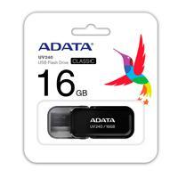 MEMORIA ADATA 16GB USB 2.0 UV240 NEGRO