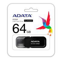 MEMORIA ADATA 64GB USB 2.0 UV240 NEGRO