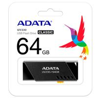 MEMORIA ADATA 64GB USB 2.0 UV230 NEGRO