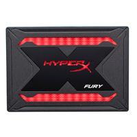 UNIDAD DE ESTADO SOLIDO SSD KINGSTON HYPERX FURY RGB 240GB 2.5 SATA3 9.5MM LECT.550/ESCR.480MBS SIN BRACKET PC/LAPTOP/GAMER/ALTO RENDIMIENTO