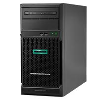 SERVIDOR HPE PROLIANT ML30 GEN10 INTEL XEON E-2124 QUAD-CORE 3.30GHZ 8MB 16GB 1 X GB DDR4 2666MHZ UDIMM 4 X NON-HOT PLUG 3.5IN 1TB LARGE FORM FACTOR SMART ARRAY S100I NO OPTICAL 350W 3YR PARTS 1YR O