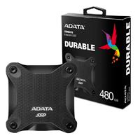 UNIDAD DE ESTADO SOLIDO SSD EXTERNO ADATA SD600Q 480GB USB 3.1  NEGRO WINDOWS/MAC/LINUX/ANDROID