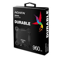 UNIDAD DE ESTADO SOLIDO SSD EXTERNO ADATA SD600Q 960GB USB 3.1 NEGRO WINDOWS/MAC/LINUX/ANDROID