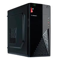 GABINETE LYNX ACTECK/TRUEBASIX/MICRO ATX /MINI ITX /THIN MINI ITX/FUENTE DE PODER 500 W/COLOR NEGRO/TB-924870