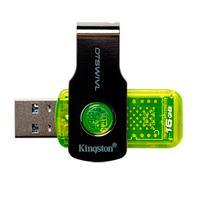 MEMORIA KINGSTON 16GB USB 3.1 ALTA VELOCIDAD / DATATRAVELER SWIVL VERDE