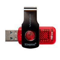MEMORIA KINGSTON 16GB USB 3.1 ALTA VELOCIDAD / DATATRAVELER SWIVL ROJO