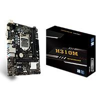 MB BIOSTAR H310 INTEL 8A GEN S-1151/2XDDR4 2666/HDMI/VGA/2XUSB3.1/MICRO ATX/GAMA BASICA