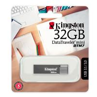 MEMORIA KINGSTON 32GB USB 3.1 DATATRAVELER MINI DTM7 GRIS