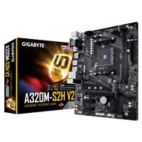 MB GIGABYTE A320 AMD S-AM4/2XDDR4 2400/REQUIERE TARJETA DE VIDEO/VGA/DVI/4XUSB3.1/M.2/ MICRO ATX/GAMA BASICA