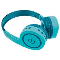 AUDIFONOS ON-EAR INALAMBRICOS MANOS LIBRES CON BT FM SD 3.5MM EASY LINE BY PERFECT CHOICE VERDE
