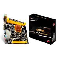 MB BIOSTAR CPU INTEGRADO AMD E1-2150/2 X DDR3, DDR3L 1333/VGA/HDMI/2X USB 3.1/MINI ITX/GAMA BASICA