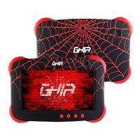 TABLET GHIA 7 KIDS/A50 QUADCORE/1GB RAM/16GB /2CAM/WIFI/BLUETOOTH/2500MAH/ANDROID 9 /NEGRA