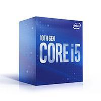 PROCESADOR INTEL CORE I5-10400 S-1200 10A GEN 2.9 GHZ 6MB 6 CORES GRAFICOS UHD 630 CON VENTILADOR COMPUTO MEDIO ITP