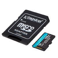 MEMORIA KINGSTON MICRO SDXC CANVAS GO! PLUS 128GB UHS-I U3 V30 A2 CLASE 10 C/ADAPTADOR