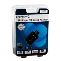 ADAPTADOR DE SONIDO USB 2.0 EXTERNO SABRENT