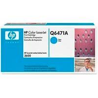 Cartucho de Tóner HP Modelo: Q6471A Cian