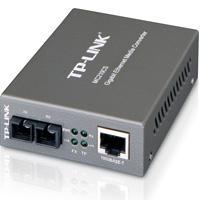 CONVERTIDOR DE MEDIOS TP-LINK MONO MODO CONECTOR DE FIBRA SC A RJ45 1000MBPS DUPLEX TOTAL HASTA 15KM