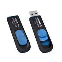 MEMORIA ADATA 32GB USB 3.0 UV128 RETRACTIL NEGRO-AZUL