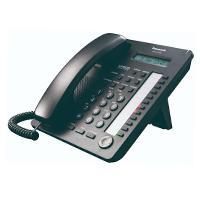 TELEFONO PANASONIC KX-AT7730 HIBRIDO CON PANTALLA DE 1 LINEA, 12 TECLAS DSS Y ALTAVOZ (NEGRO)