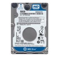 DD INTERNO WD BLUE 2.5 500GB SATA3 6GB/S 16MB 5400RPM 7MM P/NOTEBOOK COMP BASICO