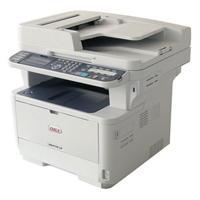 Multifuncional laser a Monocromática OKI ES4172 LP, hasta 47 ppm, 1200x1200 dpi, escáner, fax, USB.