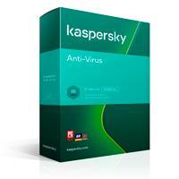 KASPERSKY ANTI-VIRUS / 10 USUARIOS / 1 AÑO / CAJA