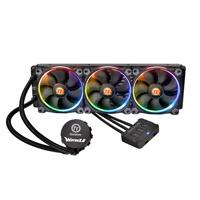 ENFRIAMIENTO LIQUIDO THERMALTAKE WATER 3.0 RIING RGB 360 INTEL 1150/1151/2011/2011V3 AMD AM4/FM2/AM3 LUZ LED PERSONALIZADO 256 COLORES PC/GAMER