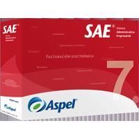 ASPEL SAE 7.0 (PAQUETE BASE, 1 USUARIO - 99 EMPRESAS) (FISICO)