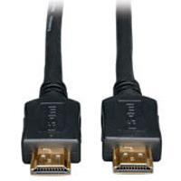 CABLE HDMI M/M TRIPP-LITE P568-050 DE VELOCIDAD ESTANDAR 1080 P VIDEO DIGITAL CON AUDIO COLOR NEGRO 1524 M 50 PIES.
