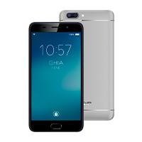 GHIA SMARTPHONE ZEUS 3G/ 5.5 PULG HD IPS 2.5D /ANDROID 7 / FINGERPRINT / DOBLE CAMARA TRASERA /1GB8GB / WIFI / BT / GRIS