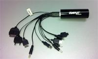 BATERIA PORTABLE USB 5V COMPLET, MICROPOWER 3000 CON CABLE UNIVERSAL INCLUIDO, COLOR NEGRO COMPLET E
