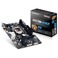 MB-GIGABYTE GA-H81M-HD2 S-1150 C/AUDIO/RED DDR3 1600/1333/ HDMI /DVI /MICRO ATX GIGABYTE GA-H81M-HD2