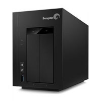 NAS SEAGATE BUSINESS 2BAY 8 TB DD INCLUIDO /1 ETHERNET /2 USB //WIN-SERVER/LINUX/MAC SEAGATE STCT800