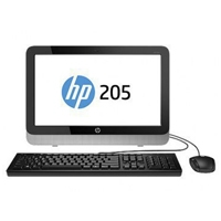 HP AIO 205 G2 AMD DUAL CORE E1-6010 1.35GHZ/ 4GB/ 500GB/ SLIM DVDRW/ 18.5/WINDOWS 8.1 64/1-1-1 HP K6
