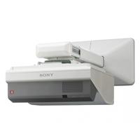 VIDEOPROYECTOR SONY VPL- SW635C WXGA 3100 LUM 8000 HRS 3LCD BRIGTHERA INTERACTIVO WIRELESS + SOPORTE