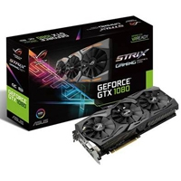 T. DE VIDEO ROG STRIX ASUS PCIE 3.0 NVIDIA GEFORCE GTX 1080/8GB/DDR5X/1632MHZ/256BIT/2 DP+DVI+2 HDMI