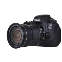CAMARA CANON EOS 6D MARK II CON LENTE EF 24-105MM F/4L IS II USM 26.2 MP DIGIC 7 6.5 CPS 45 AF GPS FULL HD