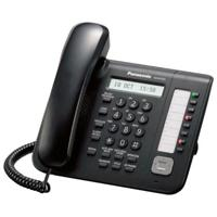 TELEFONO IP PANASONIC PROPIETARIO 8 TECLAS PROGRAMABLES ALTAVOZ NEGRO PANASONIC KX-NT551X-B