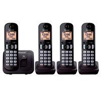 TELEFONO DIGITAL INALAMBRICO CON CUATRO AURICULARES, PANASONIC KX-TGC214MEB