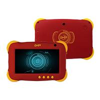TABLET GHIA 7 KIDS/QUADCORE/1GB/8GB/2CAM/WIFI/ANDROID 8.1 GO/ROJA
